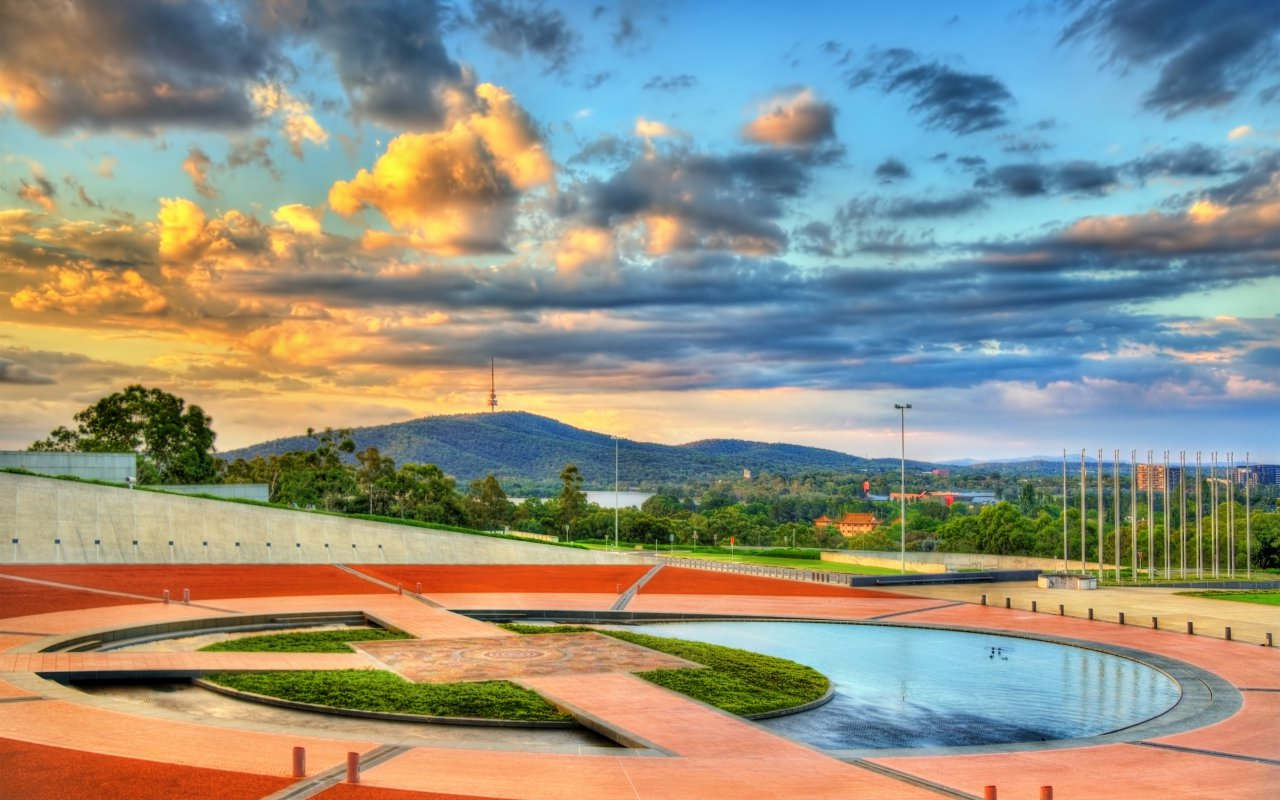 La ville de Canberra en Australie