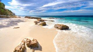 Jervis Bay en Australie dans le Sud de Sydney