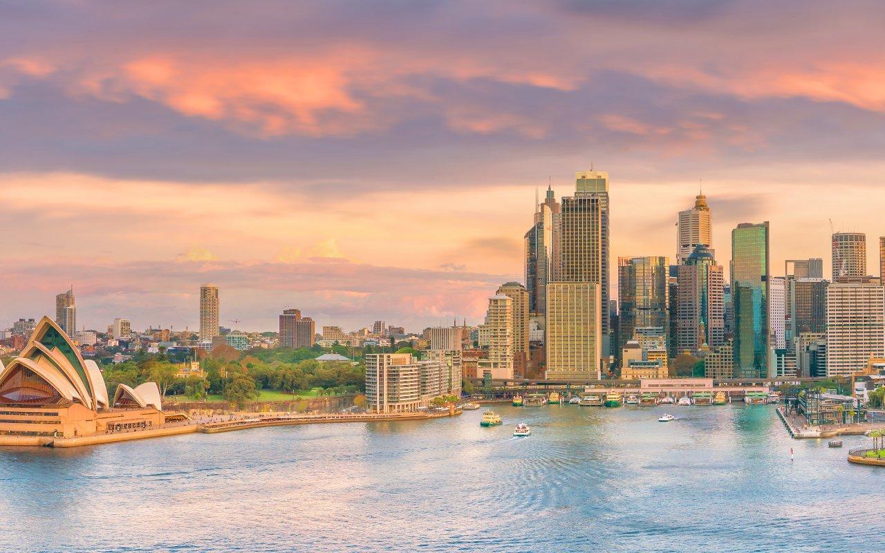 Ville de Sydney en Australie