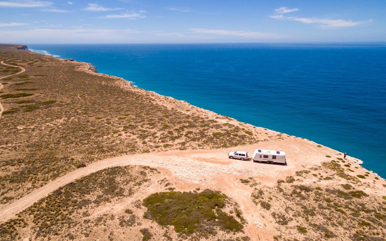 Nullarbor plain en Australie
