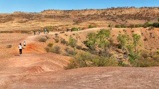 Meteorite fall, Australie