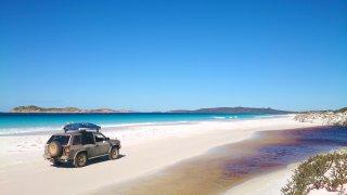 Balade en 4x4 a Fraser Island en Australie