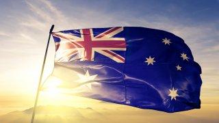 Histoire de l'Australie : drapeau