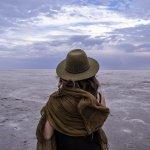 Le lac Eyre au centre de l'Australie