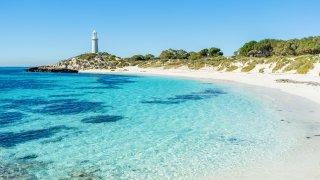 Pinky beach Perth Australie