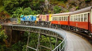 Se déplacer en Australie : prendre le train