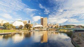 La ville d'Adelaide en Australie