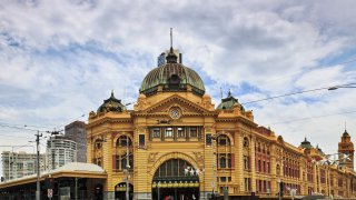 Architecture australienne : Flinders Street Station à Melbourne