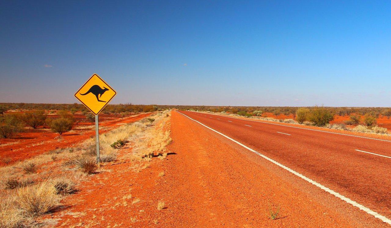 Outback en Australie