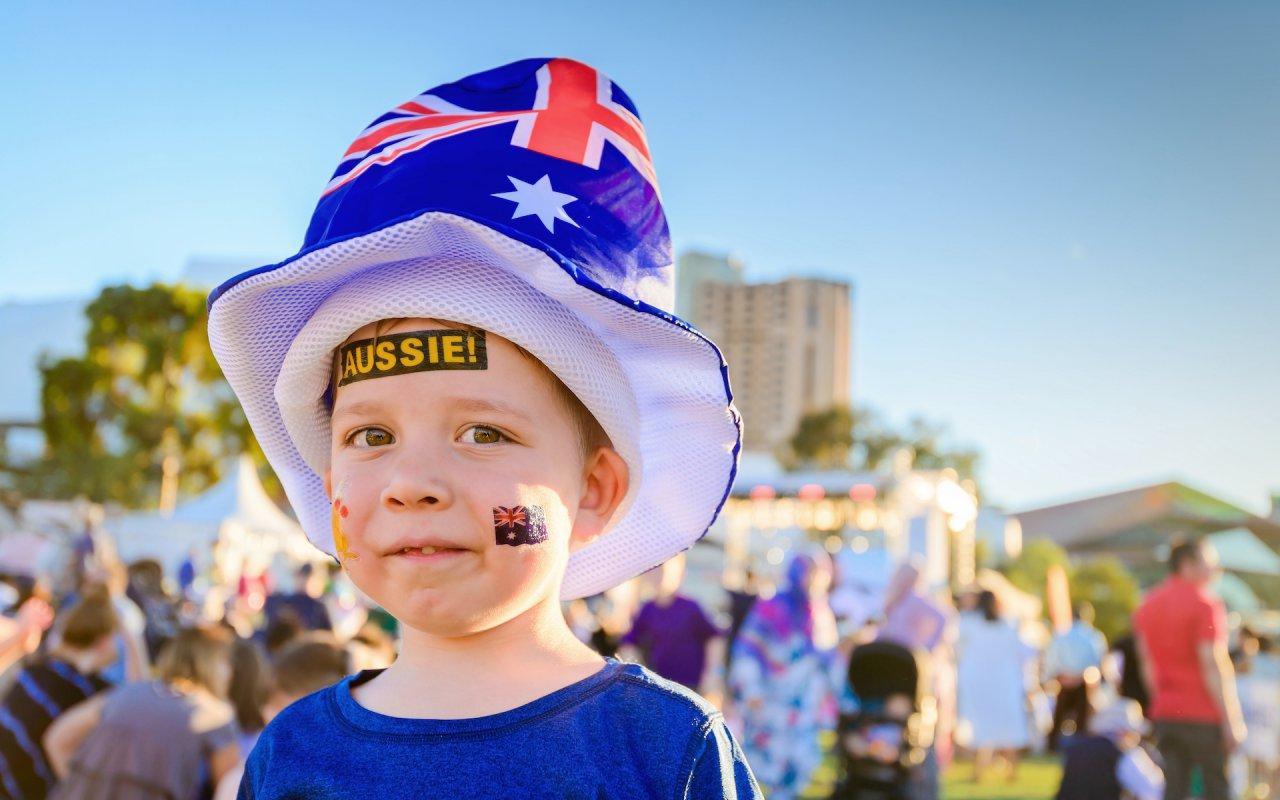 Australian boy