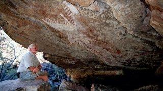 terres d'arnhem - art rupestre australie - terra australia