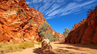 TERRES ROUGES AUSTRALIENNES : (Trek Larapinta Trail & Kakadu)
