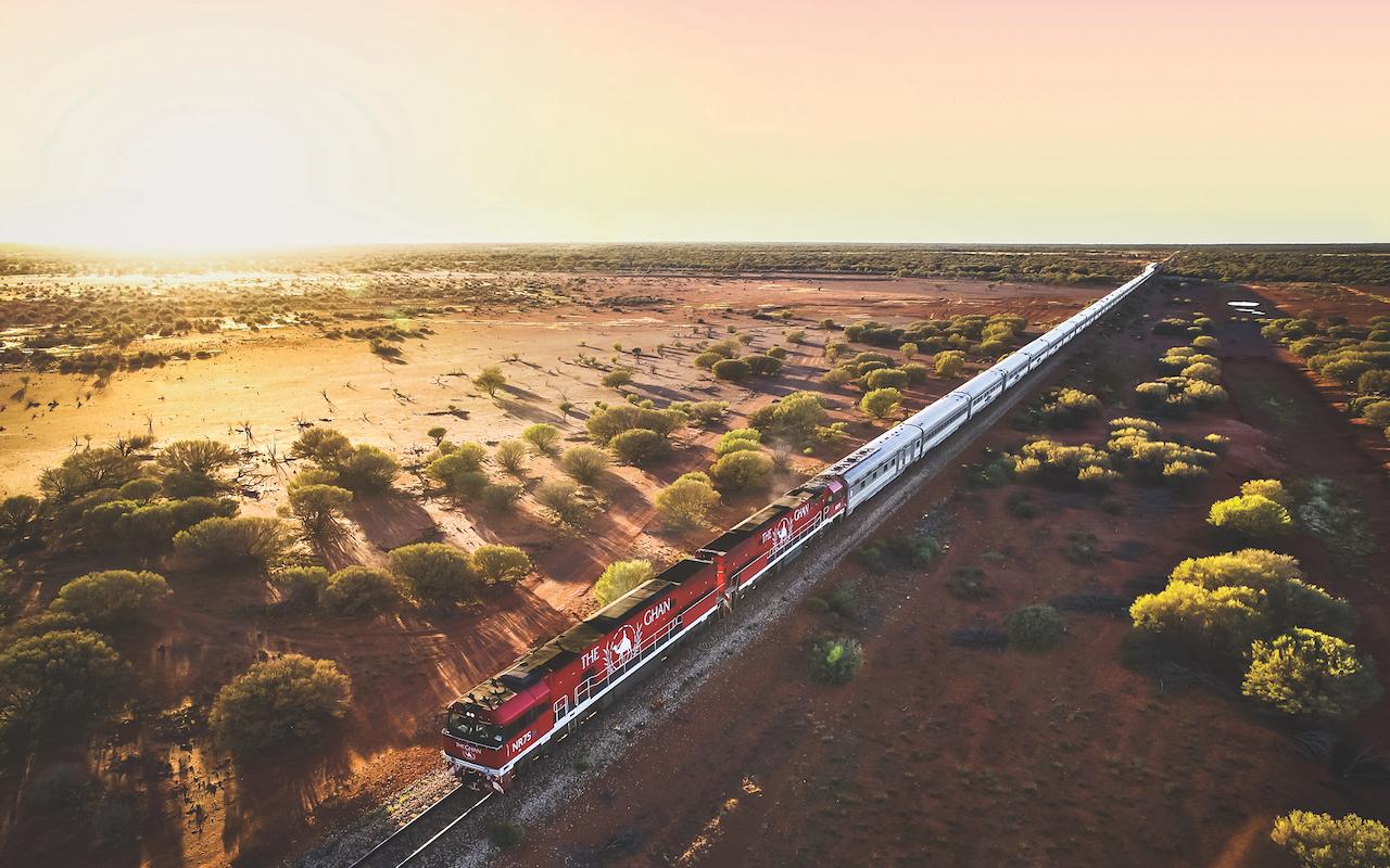 voyage australie en train - terra australia