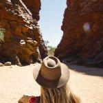 fille australie centre rouge
