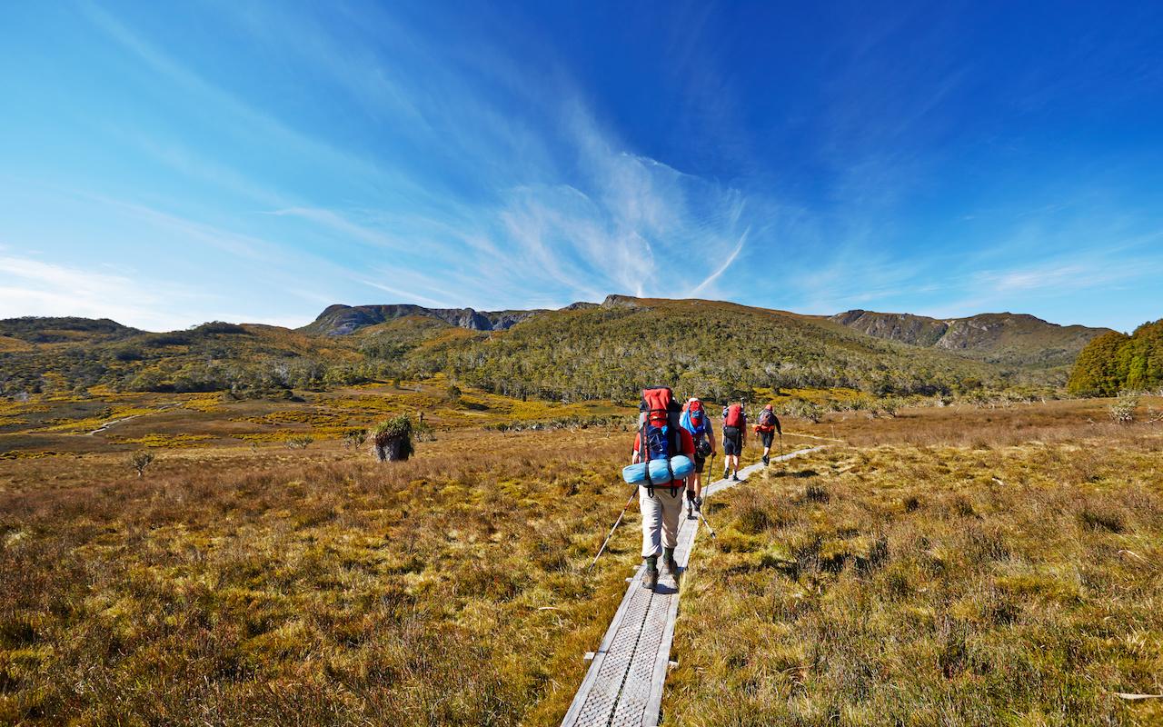 trek tasmanie - terra australia