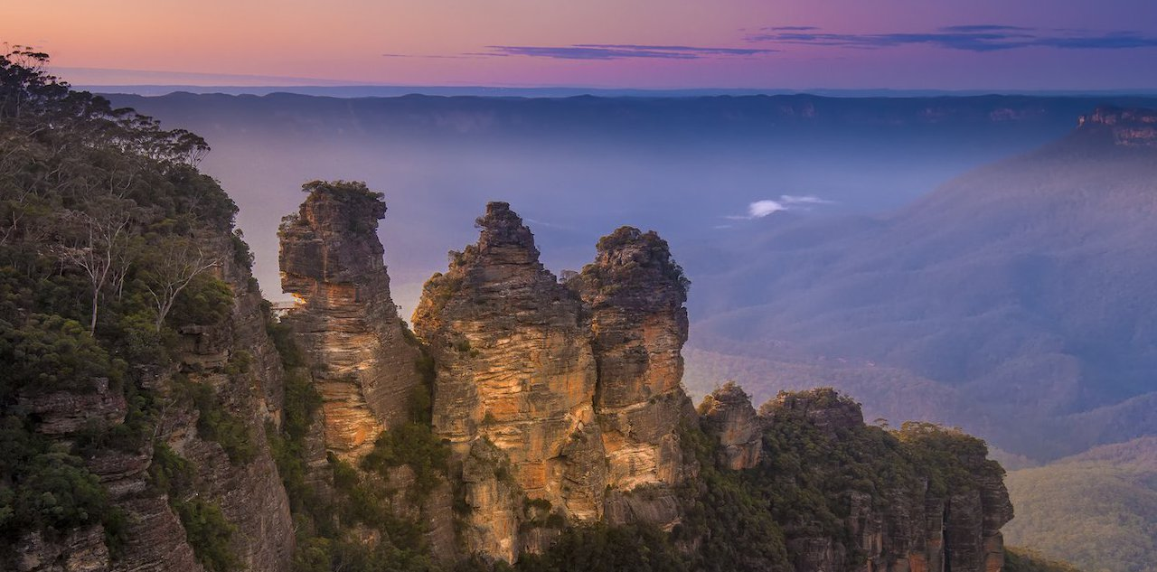 Blue Mountains - visite de sydney