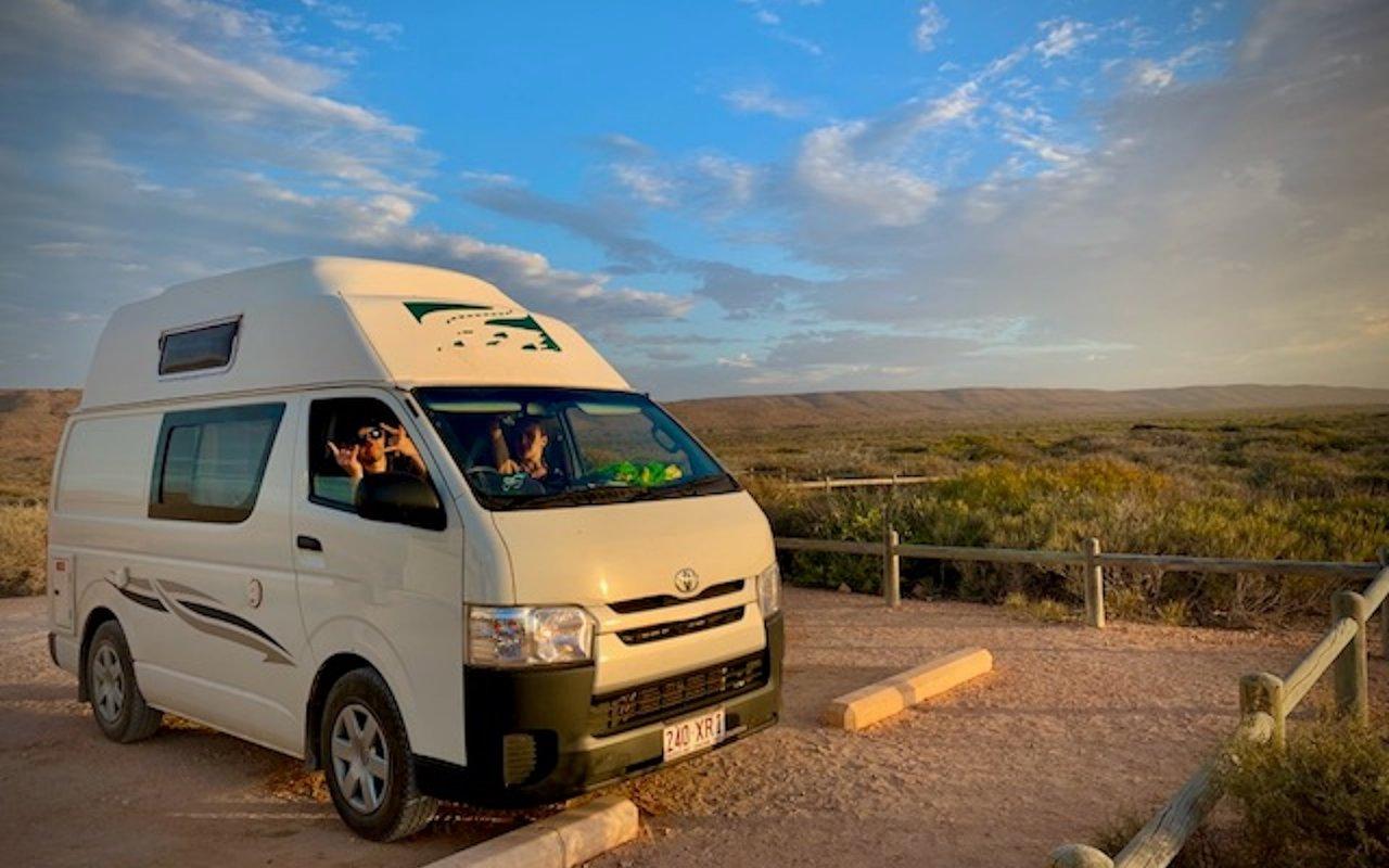 voyage camping car Ningaloo Reef