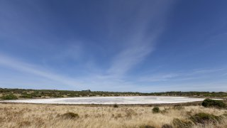 salt lake - coorong national park - voyage australie terra australia