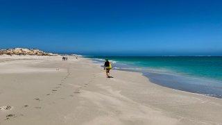 coral bay plage