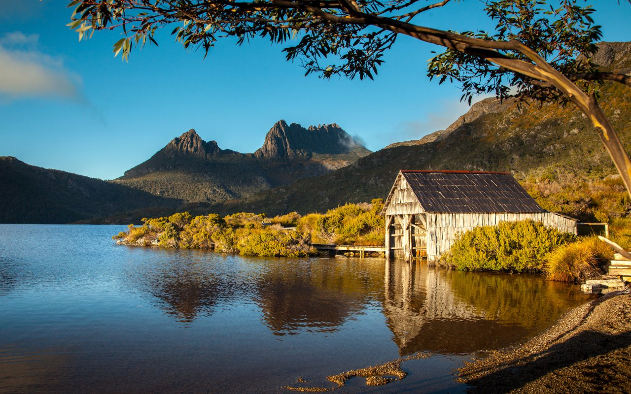 cradle refuge tasmanie - voyage australie terra australia
