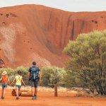 visiter le centre rouge en famille - voyage australie terra australia