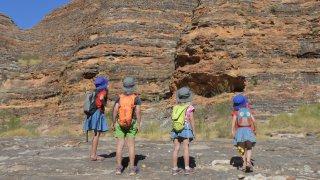 enfant voyage australie famille