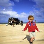 camping car en australie - Esteban a fraser island