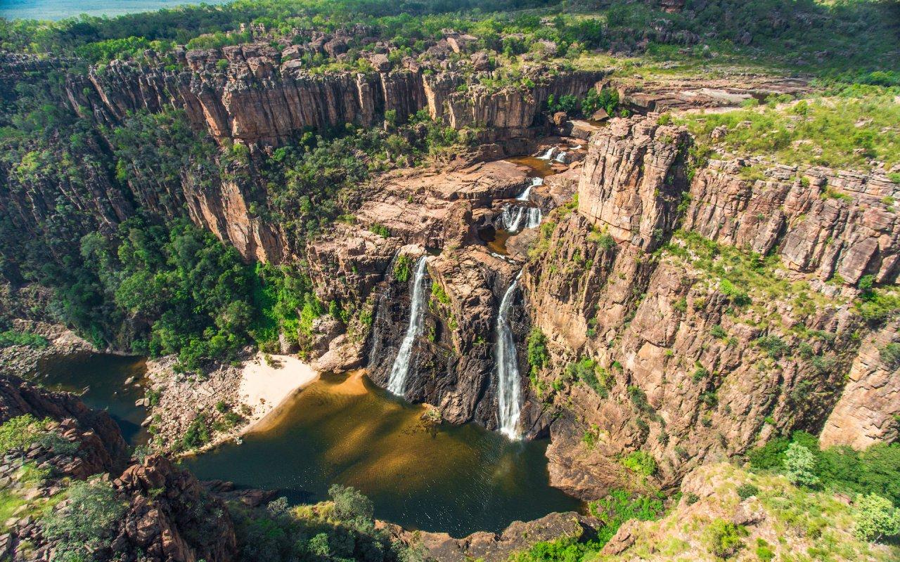 kakadu Twin Falls