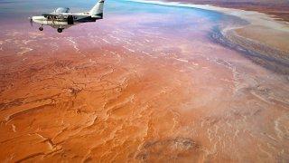 Lake Eyre - voyage australie terra australia