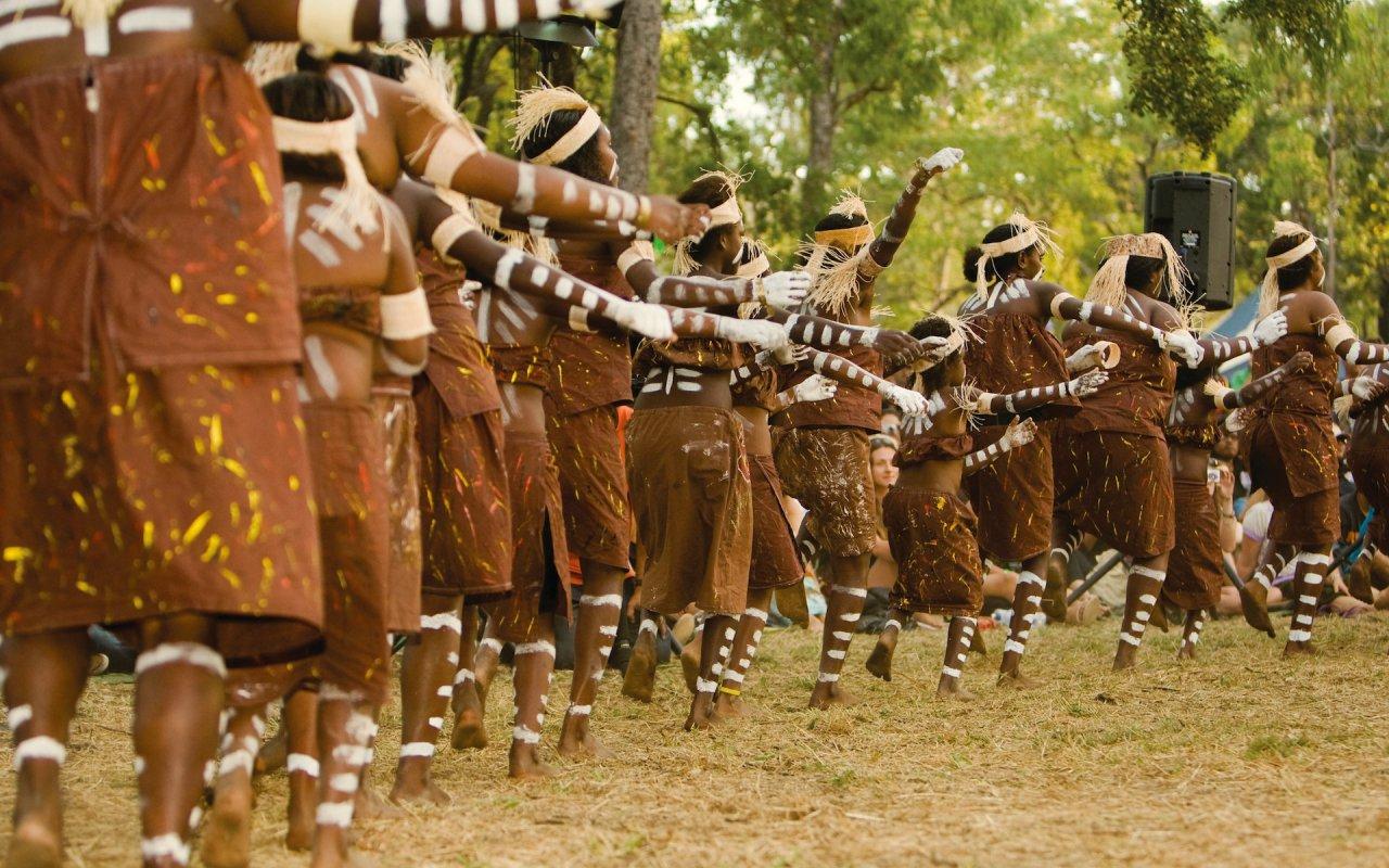 danse aborigene