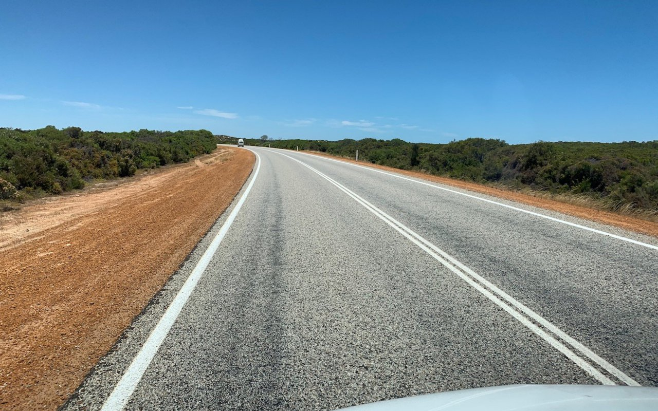 On the Road Exmouth Perth