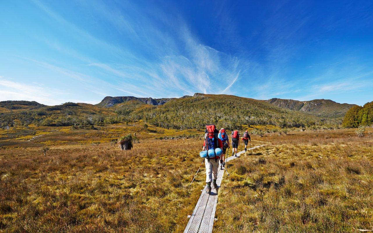 Overland Trail Tasmanie