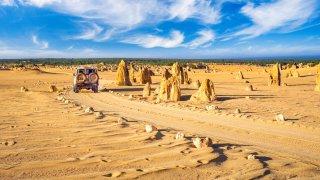 the pinnacles rock park - voyage australie terra australia