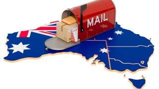 Poste en Australie