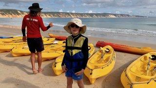 Rainbow Beach Kayak Dauphin