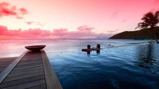 serene sunset - voyage australie