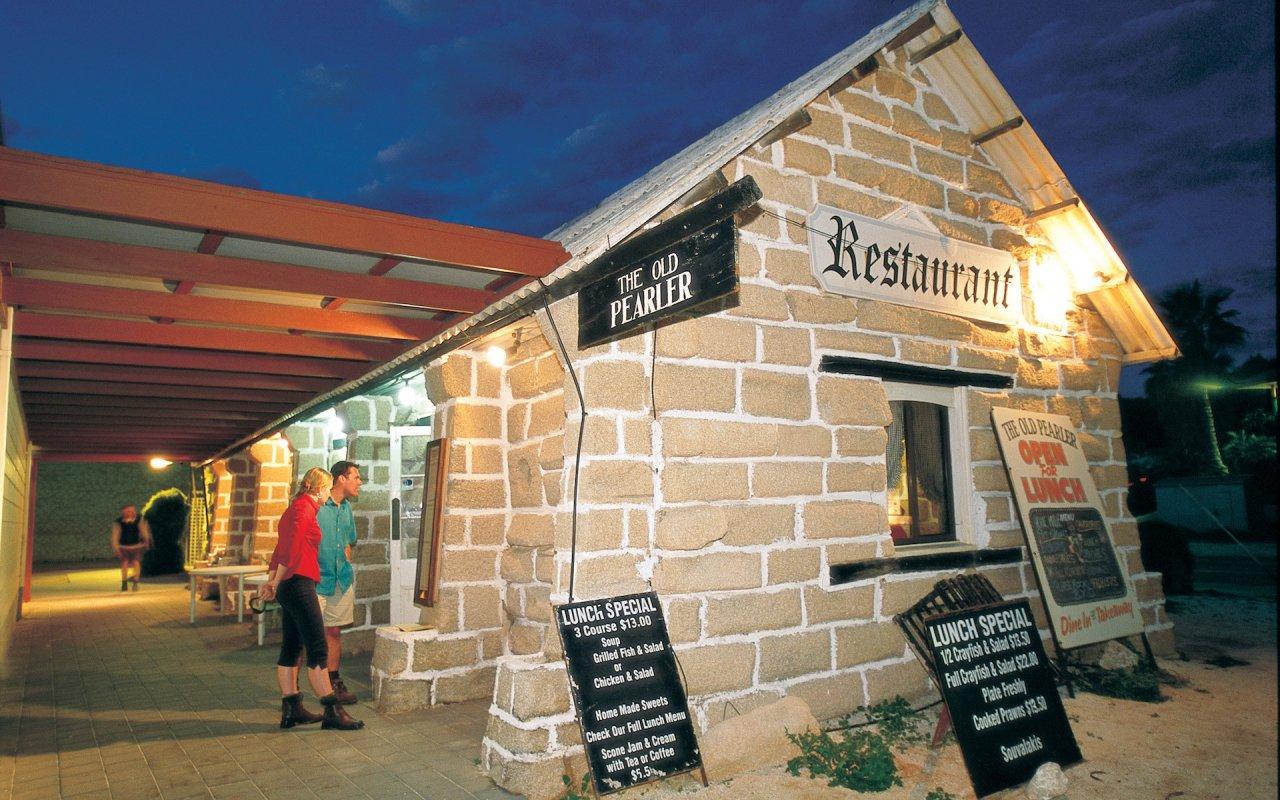 The Old Pearler restaurant in Denham
