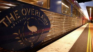 the overland - voyage durable en train en australie