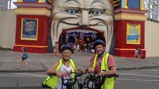 visite à vélo Melbourne