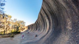 Wave Rock - voyage australie terra australia