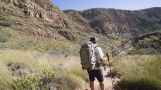 larapinta trail - voyage australie terra australia