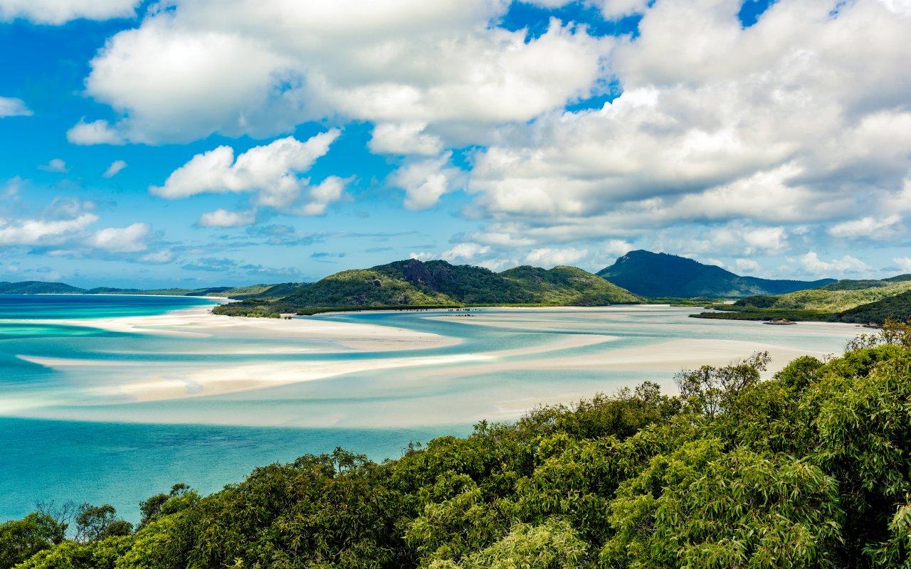 Airlie Beach aux Whitsundays en Australie
